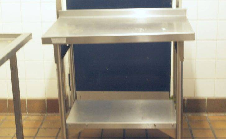 Secondhand Catering Equipment Stainless Steel Tables