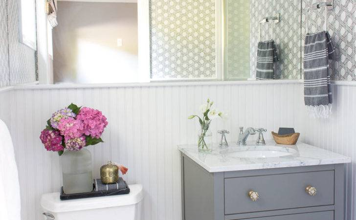 Secret Weapon Wallpapering Your Bathroom Driven