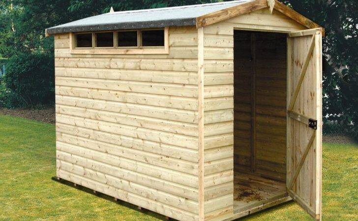 Security Cabin Apex Shiplap Wooden Shed