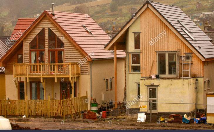 Self Build Eco Homes Under Construction Ashley Vale