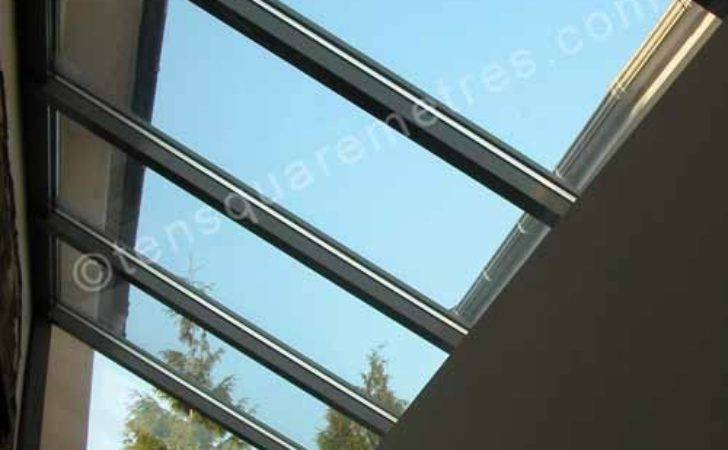 Self Build House Extension Roof Glass