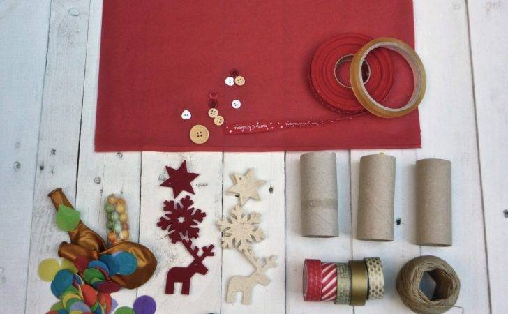 Selfpackaging English Make Your Own Christmas Crackers