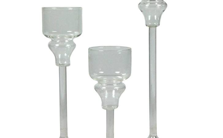 Set Hurricane Candle Holders Achica