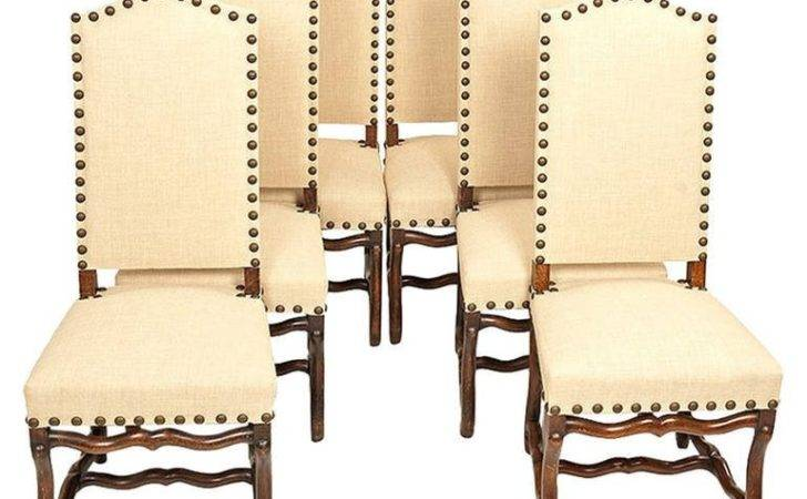 Set Six French Country Dining Chairs Stdibs