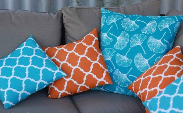 Sew Quick Easy Cushion Cover Cook Clean Craft