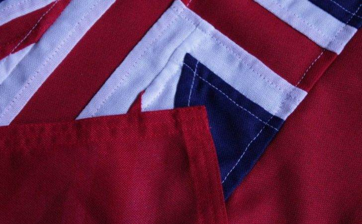 Sewn Mod Red Ensign British Flags Woven