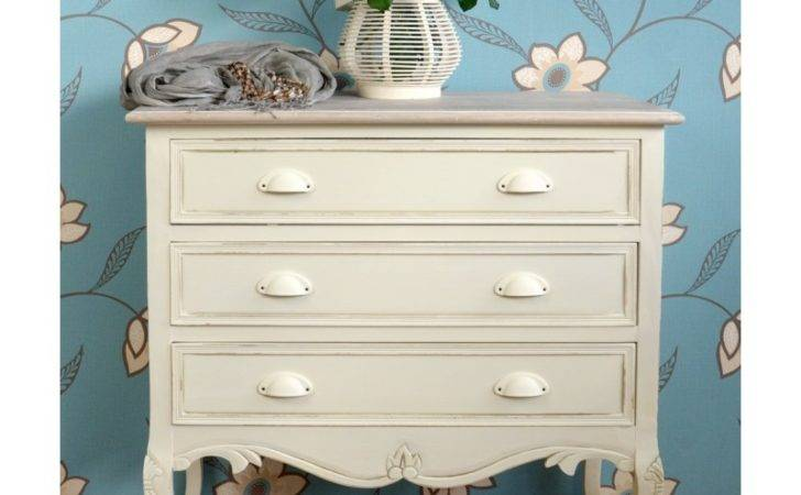 Shabby Chic Country Drawer Chest Bedroom Furniture Direct