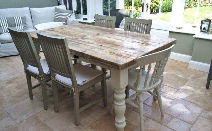 Shabby Chic Dining Table Decor Home Design Ideas