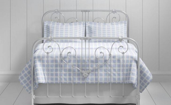 Shabby Chic Iron Metal Bed Frame Original Bedstead
