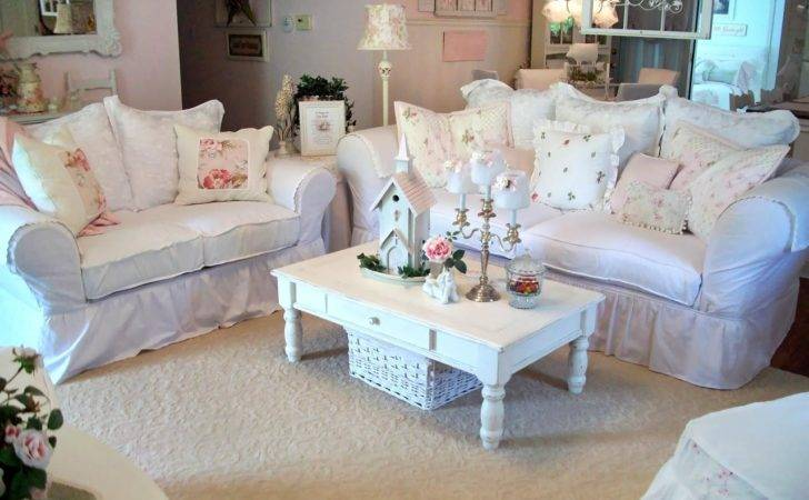 Shabby Chic Living Rooms Room Dining