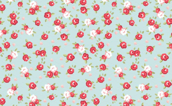 Shabby Chic Rose Digital Paper Pack Patterns Creative