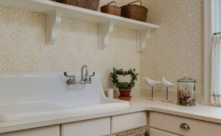 Shabby Chic Style Laundry Room Design Ideas Remodel