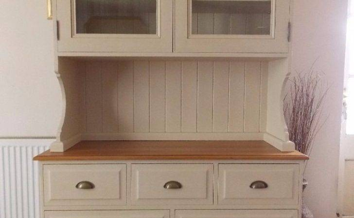 Shabby Chic Welsh Dresser Painted Annie Sloan Old Ochre