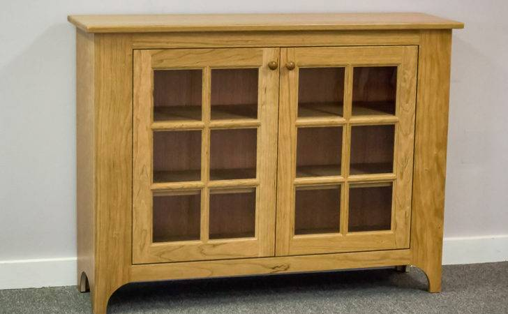 Shaker Furniture Maine Cherry Hall Cabinet