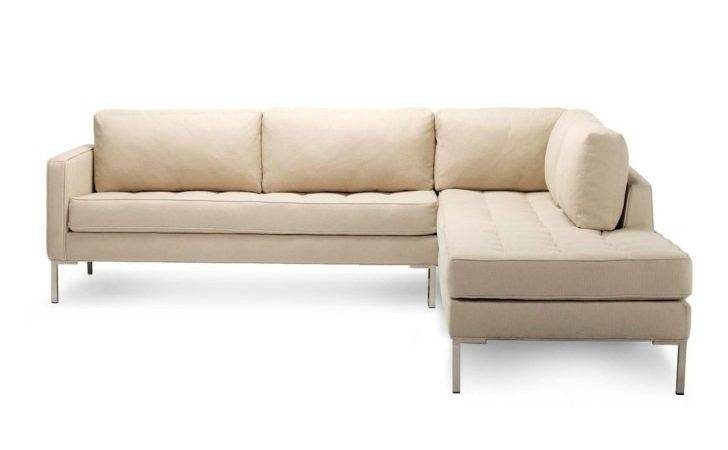 Shaped Gray Fabric Sleeper Sofa Plus Cushions Connected