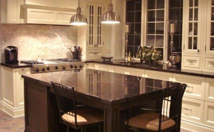 Shaped Kitchen Island Exclusive Home Design