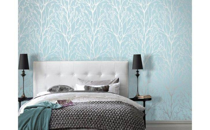 Shimmer Tree Teal Silver Ilw