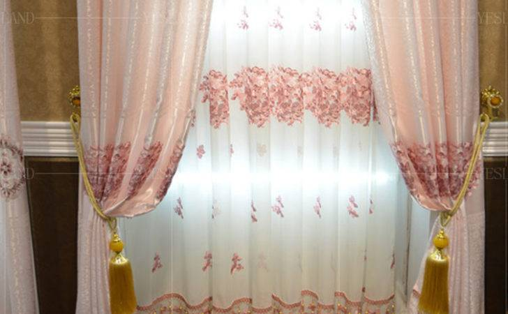 Shipping Kids Room Curtains Children Embroidered