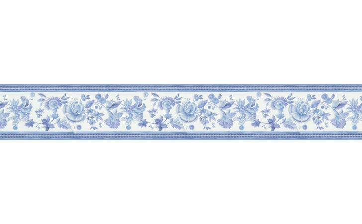 Shop Brewster Wallcovering Narrow Blue White