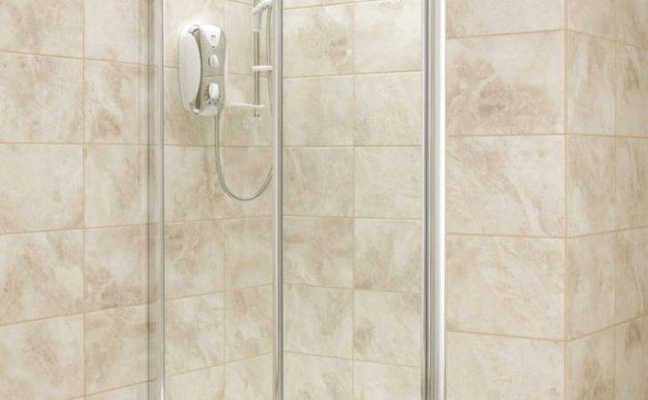 Shower Doors Clear Glass Silver Sliding