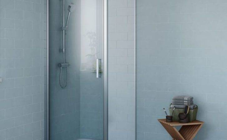Shower Enclosures Doors Cubicles Trays Diy