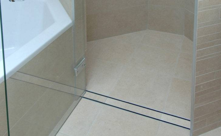 Shower Trench Drain Linear Pan Aqva