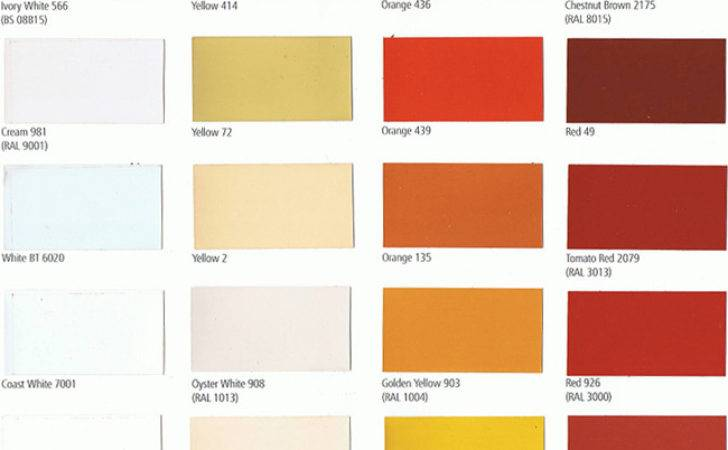 Sigma Paint Color Cards International
