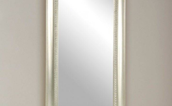 Silver Traditional Hall Mirror Poundstretcher