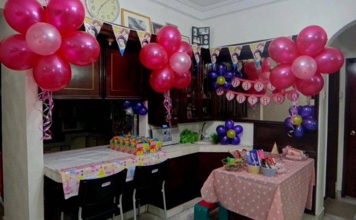 Simple Decoration Ideas Birthday Party Home