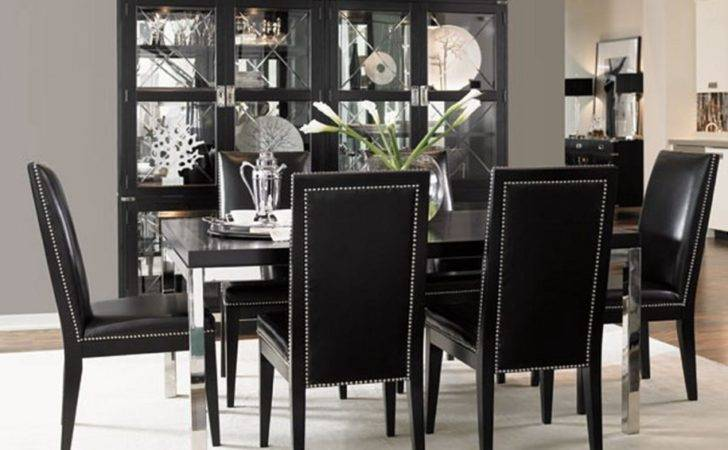 Simple Dining Room Black Table Chairs