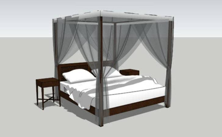 Simple Four Poster Bed Mosquito Nets Warehouse