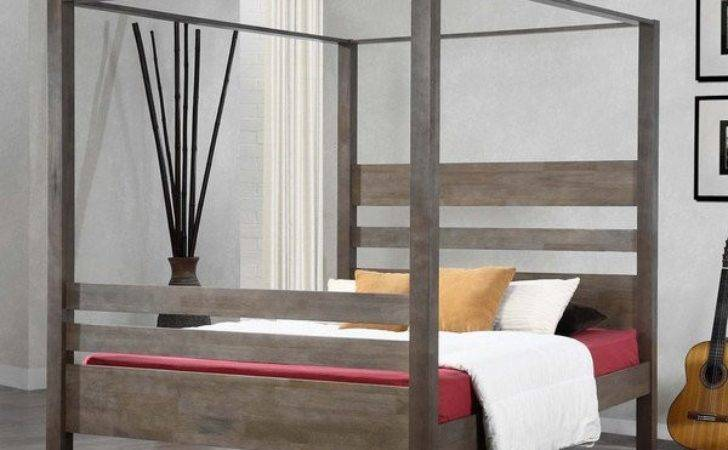 Simple Four Poster Canopy Beds Home Design Lover