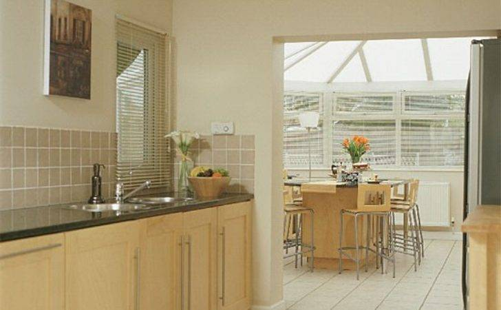 Simple Modern Kitchen Extension Extensions