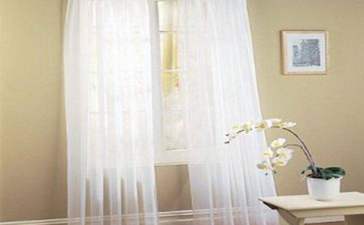 Simple White Layered Curtain Ideas Your Dream Home