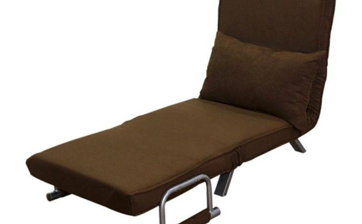 Single Bed Fold Out Chair Pillow Aosom