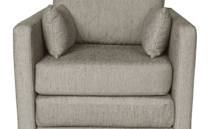 Single Futon Sofa Bed Chair Snooze Fabric Seater Guest