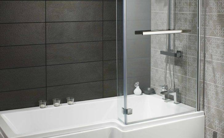 Skye Square Shaped Bath Package Shower Screen
