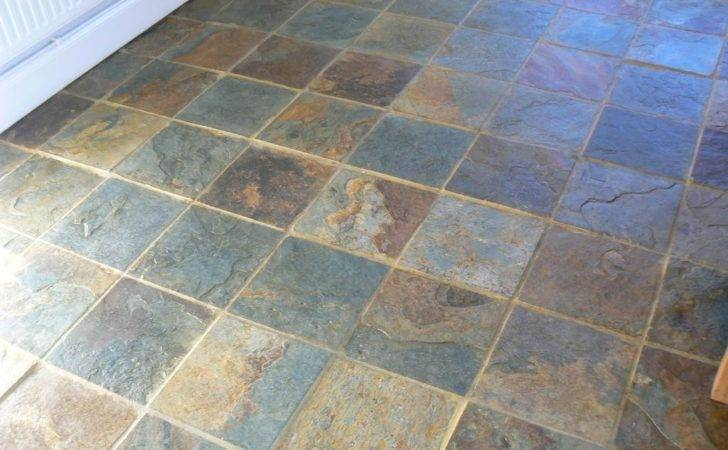 Slate Floor Cleaning Sealing Service Cheshire Area