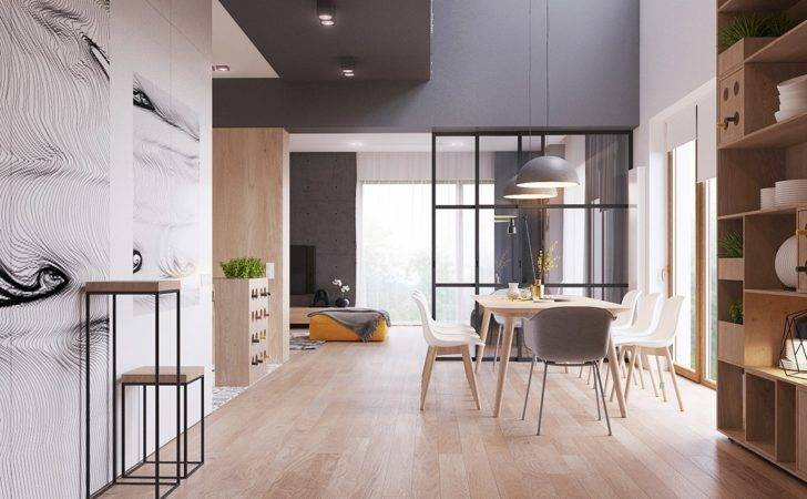 Sleek Surprising Interior Inspired Scandinavian