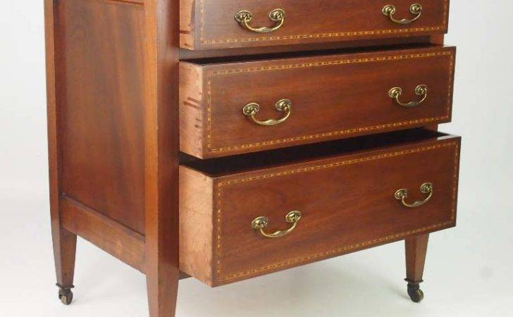 Small Antique Edwardian Chest Drawers
