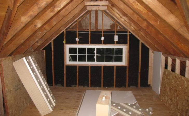 Small Attic Remodel Before After Ideas