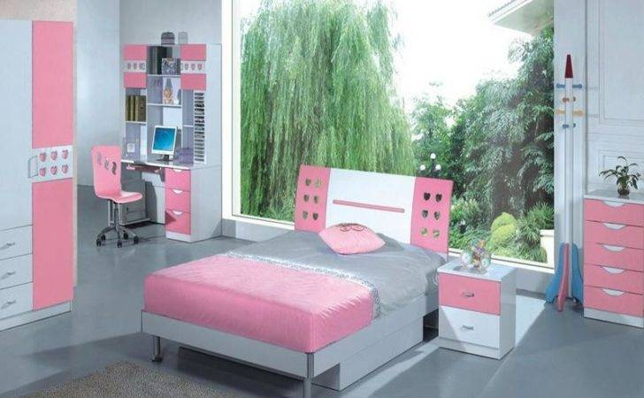 Small Bedroom Furniture Designs Cool Pink Amazing