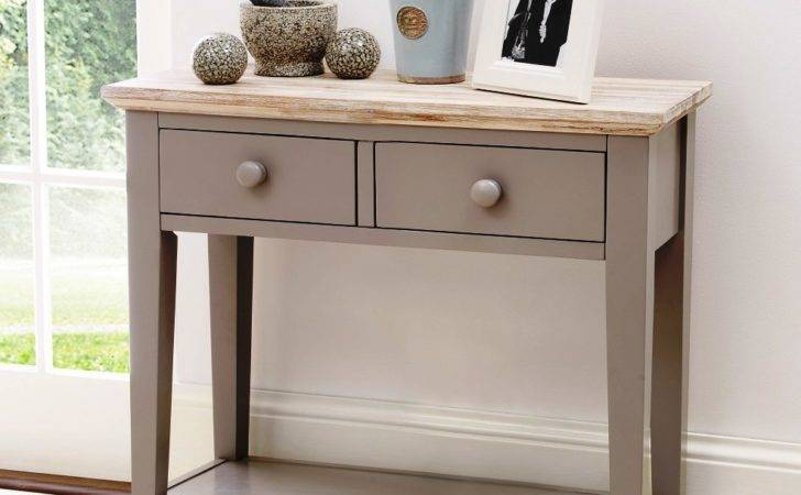Small Console Table Hallway Add Decoration Home