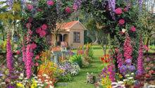 Small Cottage Gardens Home Design Ideas