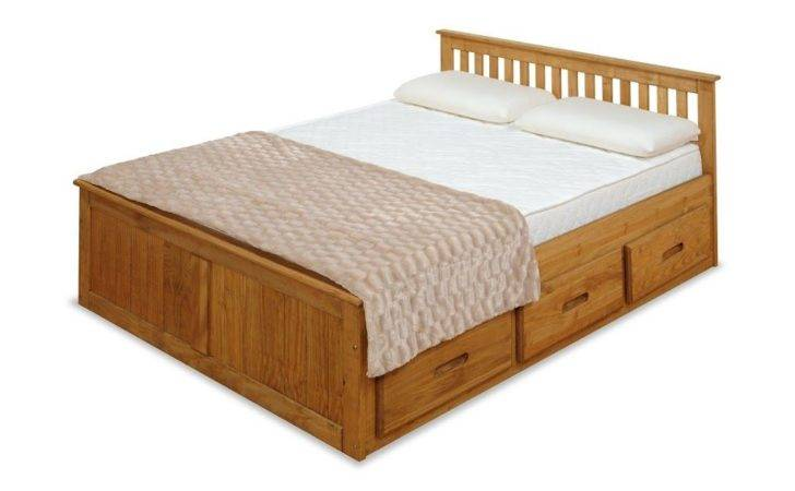 Small Double Captains Bed