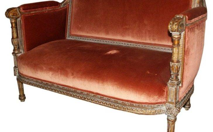 Small French Style Bench Settee Stdibs