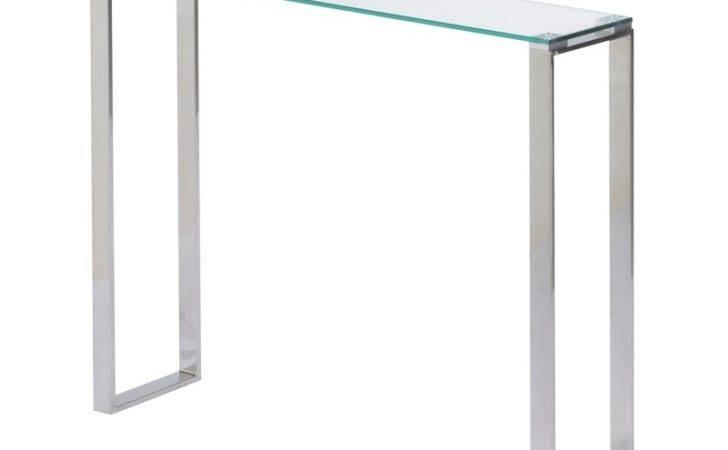 Small Glass Console Tables Astishing Narrow