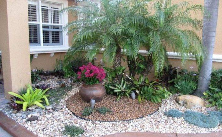Small Good Landscaping Ideas Front Yard Rocks