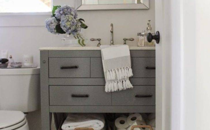 Small Home Style Bathroom Design Solutions Make