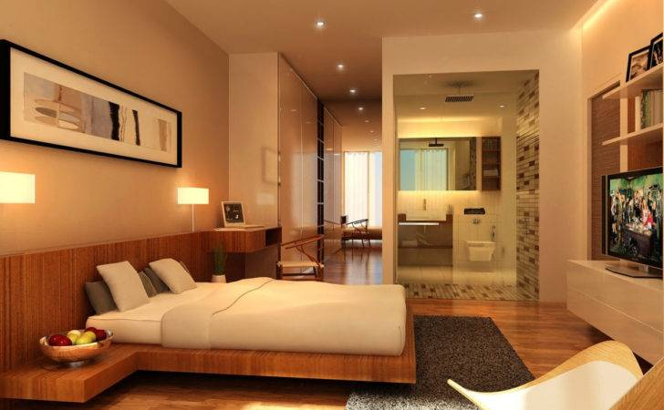 Small House Interior Design Simple Master Bedroom Home Combo